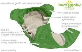 Tã vải loại có miếng lót lấy ra được để giặt riêng